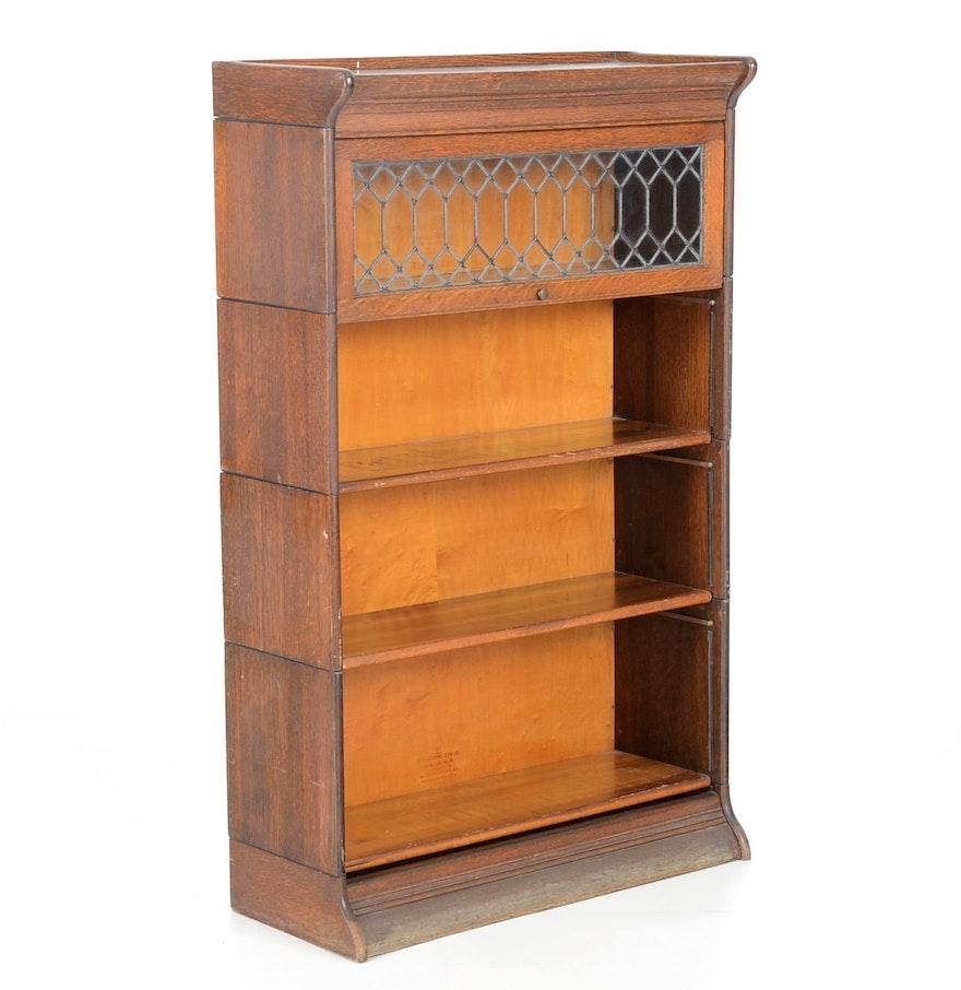 Gunn Six Piece Barrister Bookcase Circa 1901