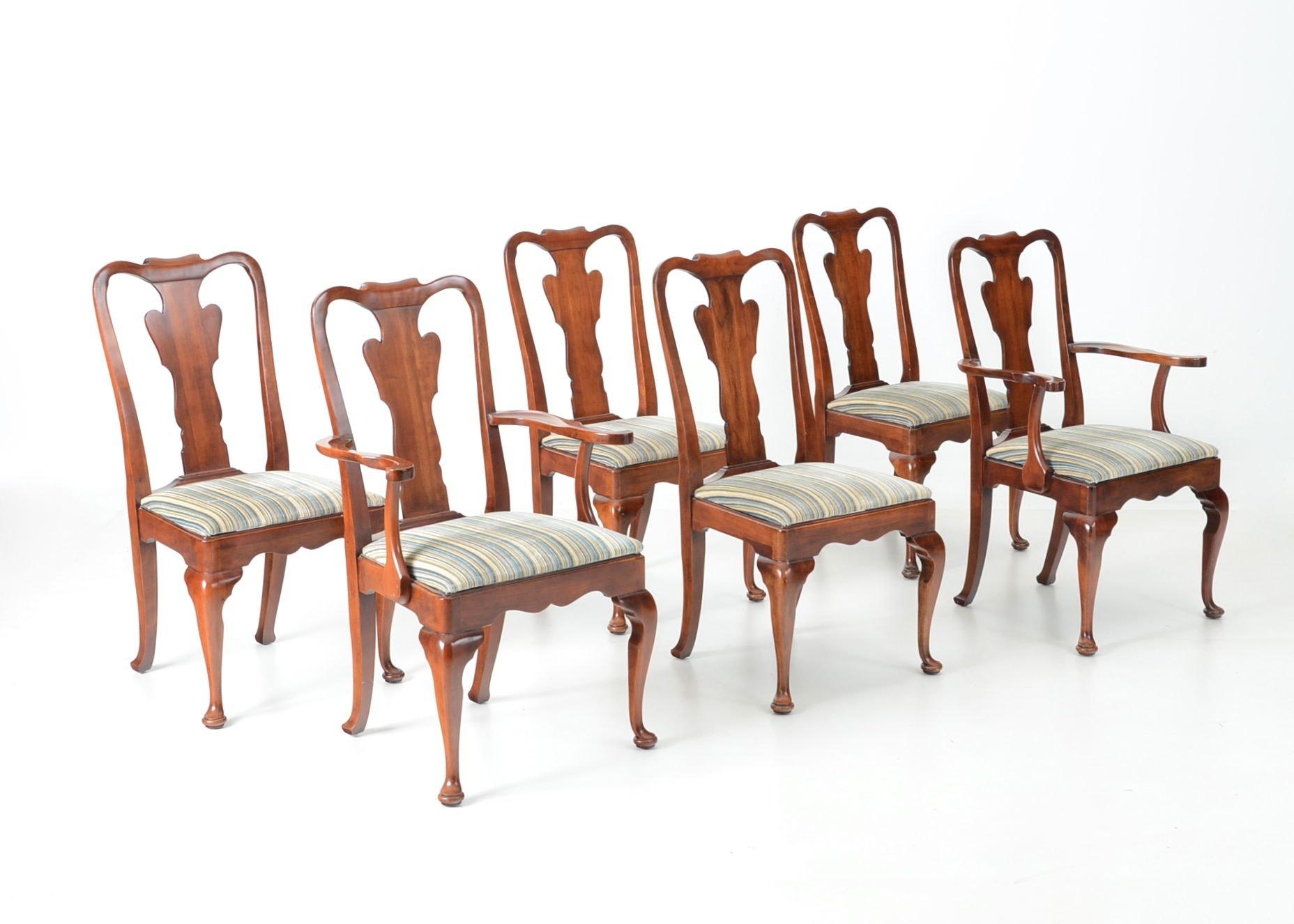 Merveilleux Six Stratton Furniture Chairs ...