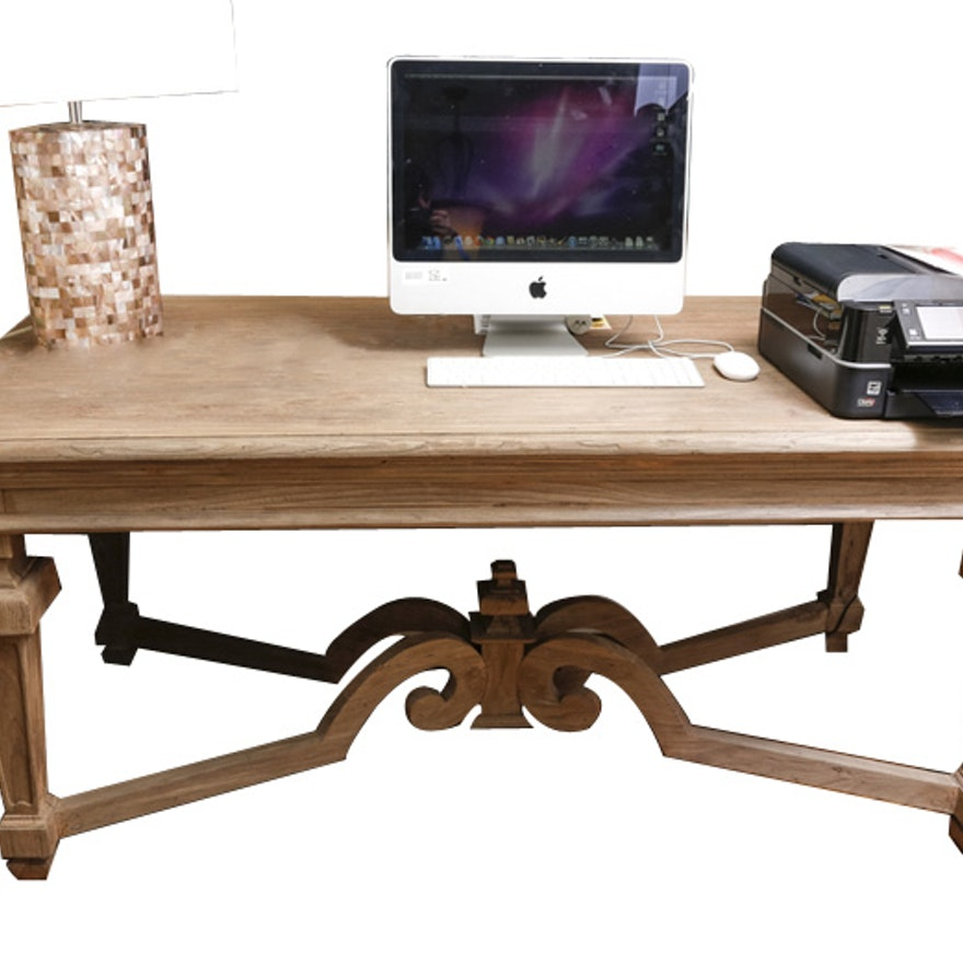 Aidan Gray Dining Table EBTH - Aidan gray dining table