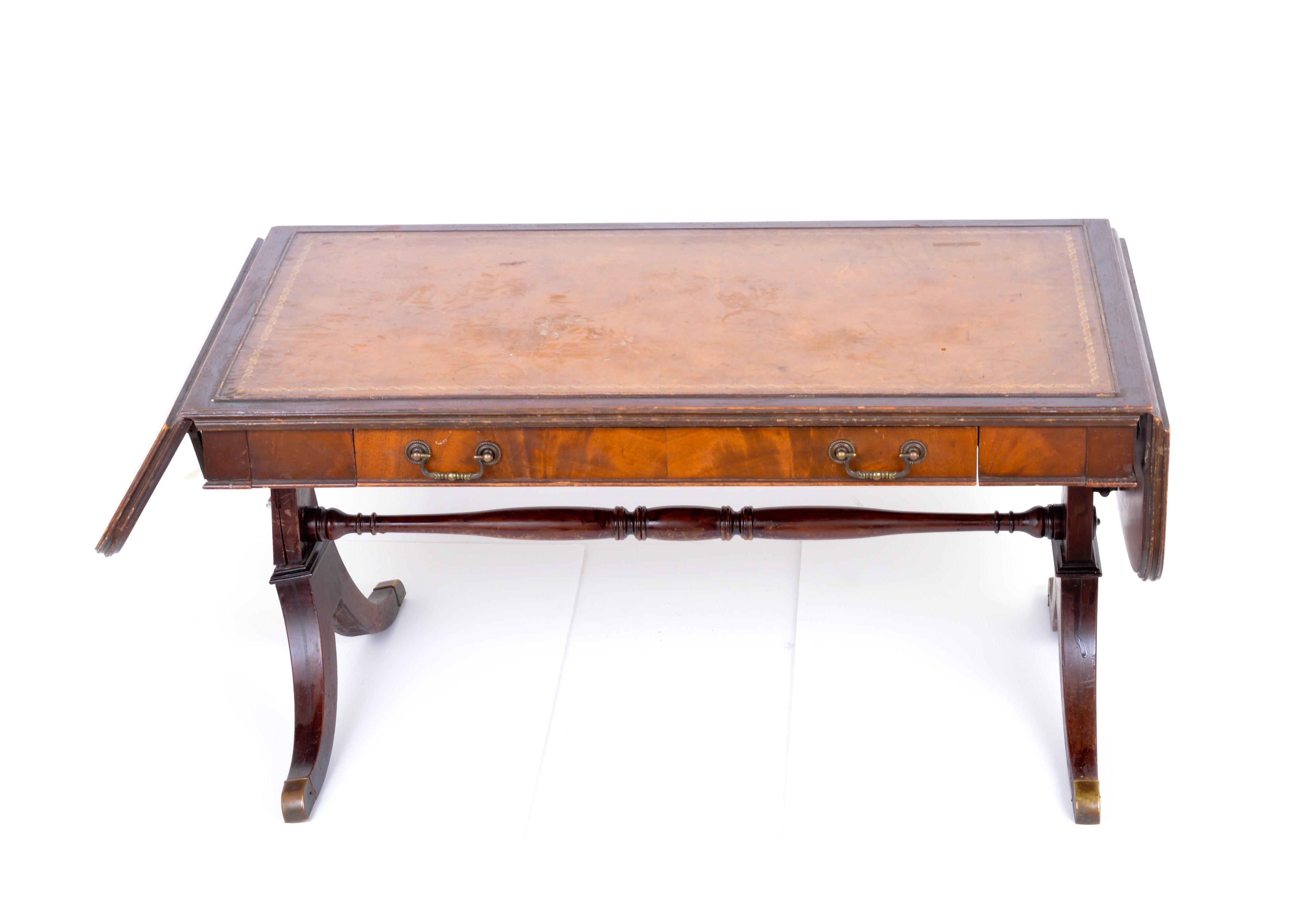 Mahogany Imperial Furniture Drop Leaf Coffee Table EBTH