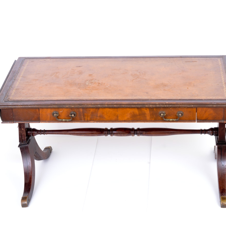 Mahogany imperial furniture drop leaf coffee table ebth for Find a table