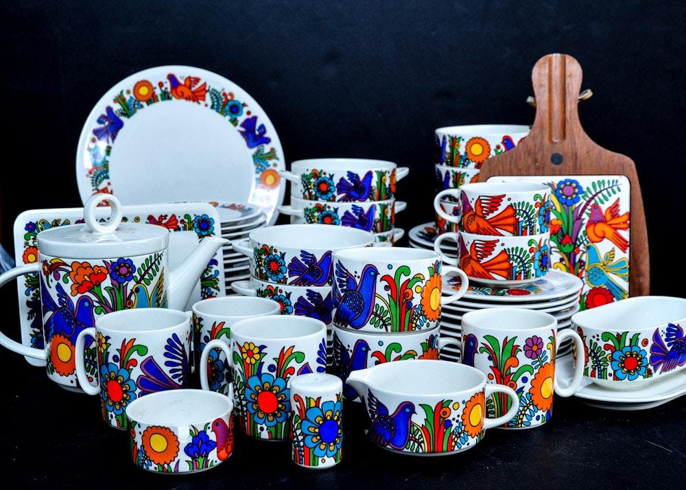 Vintage Villeroy and Boch Acapulco Porcelain Dinnerware ... & Vintage Villeroy and Boch Acapulco Porcelain Dinnerware : EBTH