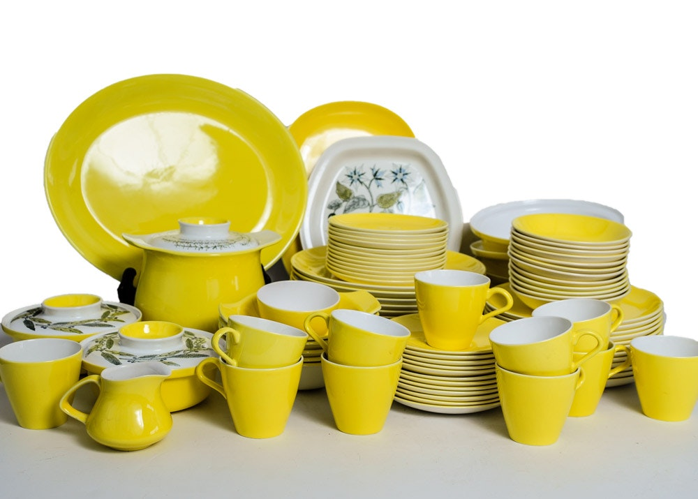 Vintage Poole Pottery Tableware ...  sc 1 st  EBTH.com & Vintage Poole Pottery Tableware : EBTH