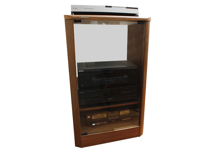 Pioneer Stereo Cabinet with Magnavox Record Player and Stereo : EBTH