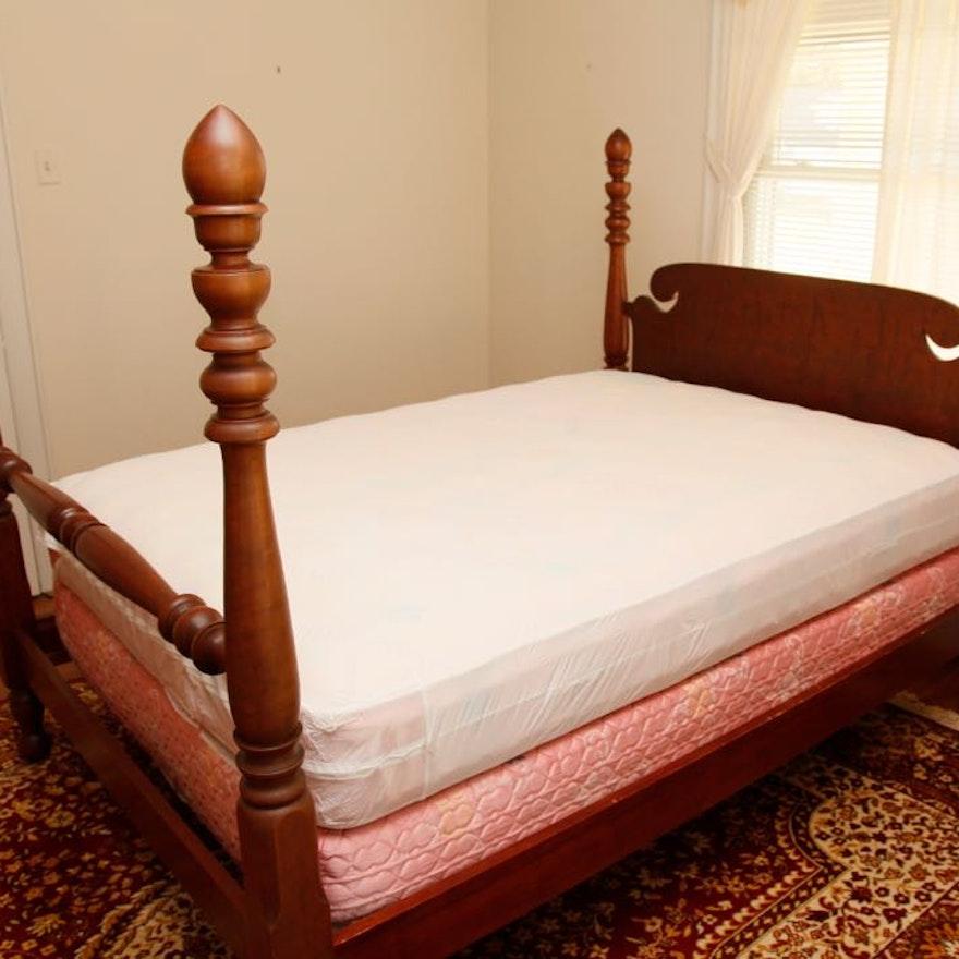 Walnut Full Size Bed Frame