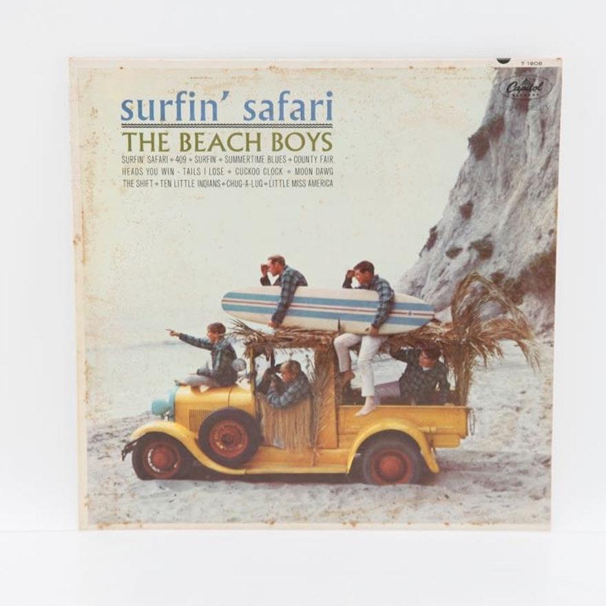 "Beach Boys ""Surfin' Safari"" Vinyl Record"