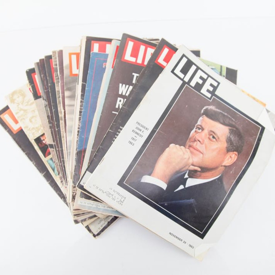 Vintage Issues of Life Magazine