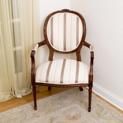 Henredon Balloon Back Schoonbeck Chair