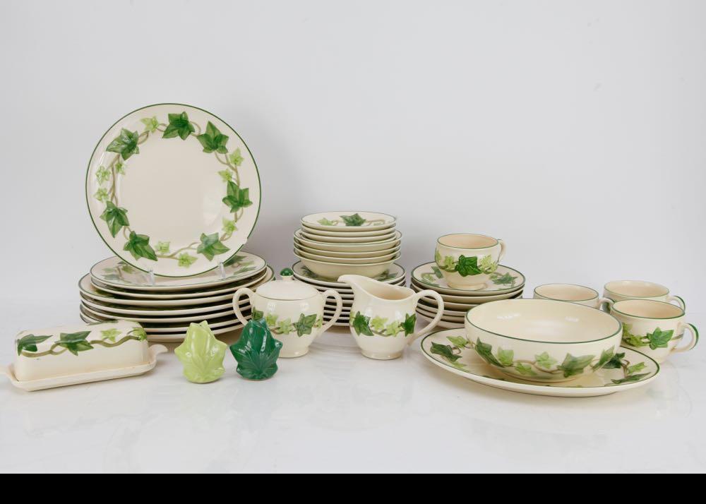 Vintage Franciscan Ivy Dinnerware ... & Vintage Franciscan Ivy Dinnerware : EBTH