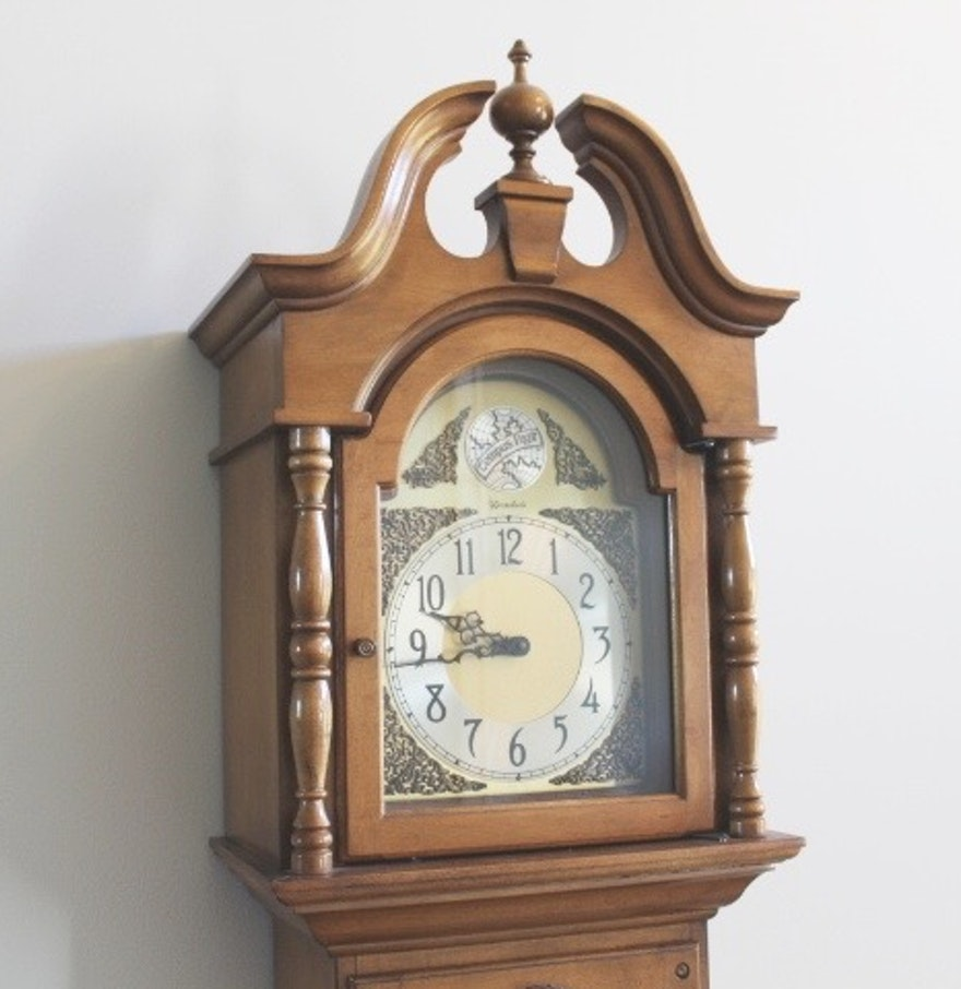 Herschede tempus fugit grandfather clock ebth herschede tempus fugit grandfather clock amipublicfo Image collections