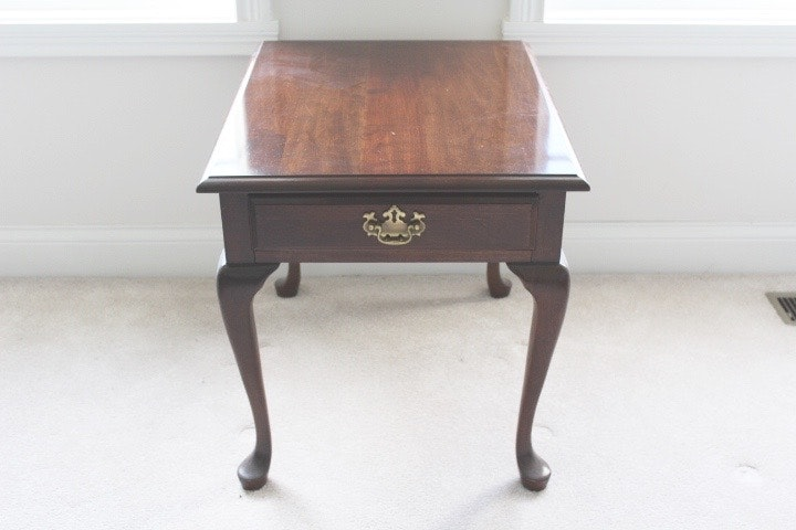 Pennsylvania House Furniture Cherry Oval Side Table ...