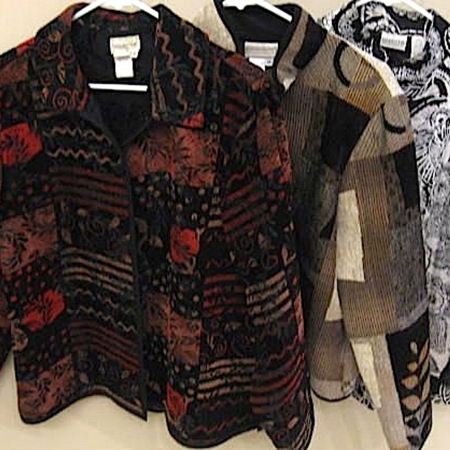 Designer Jackets from Chico's and Coldwater Creek