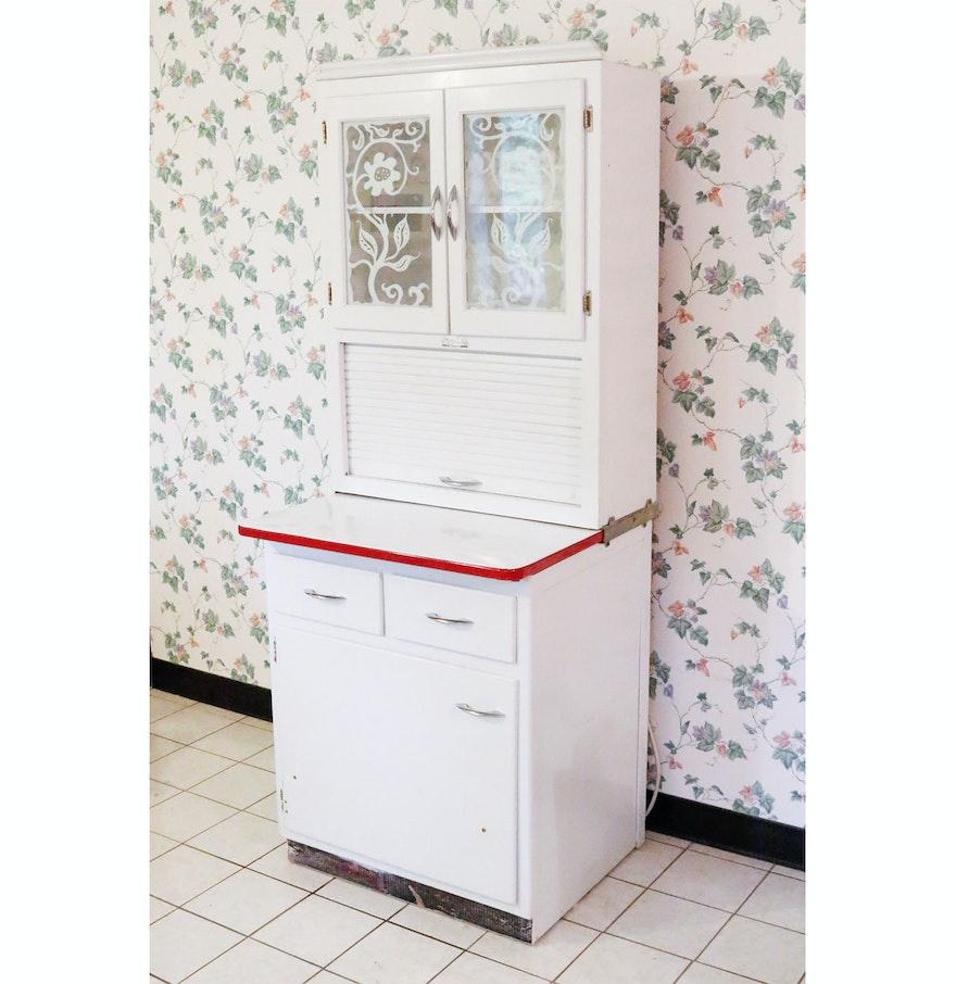 Wilson Kitchen Cabinet Hoosier Scheirich Hoosier Style Kitchen Cabinet Ebth