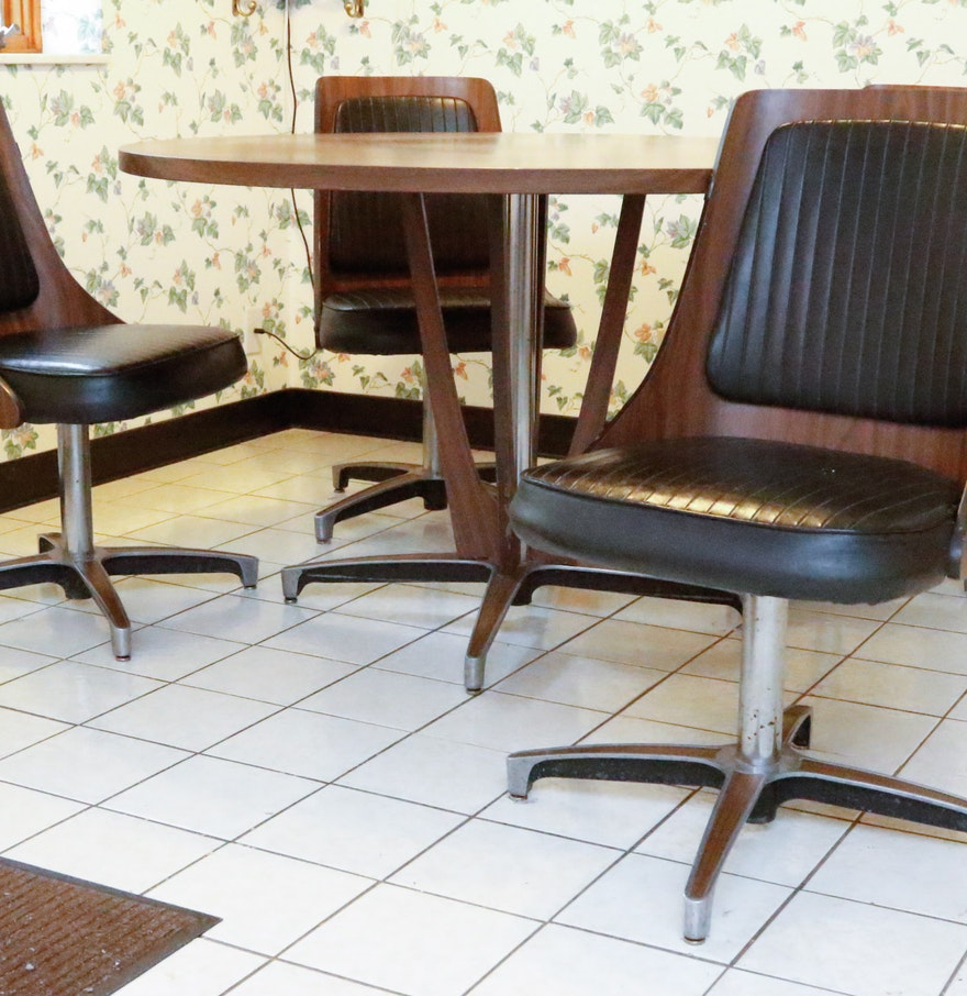 Chromcraft Table And Chairs Dinette Set : EBTH