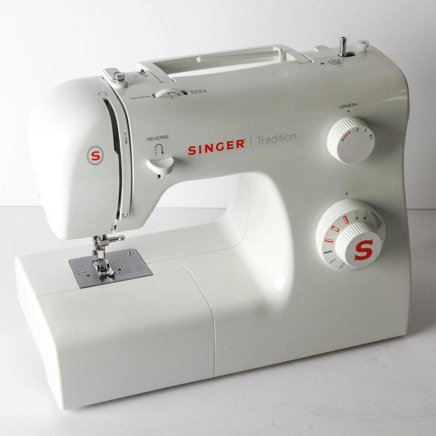 Singer Tradition Sewing Machine EBTH Enchanting Singer Tradition Sewing Machine