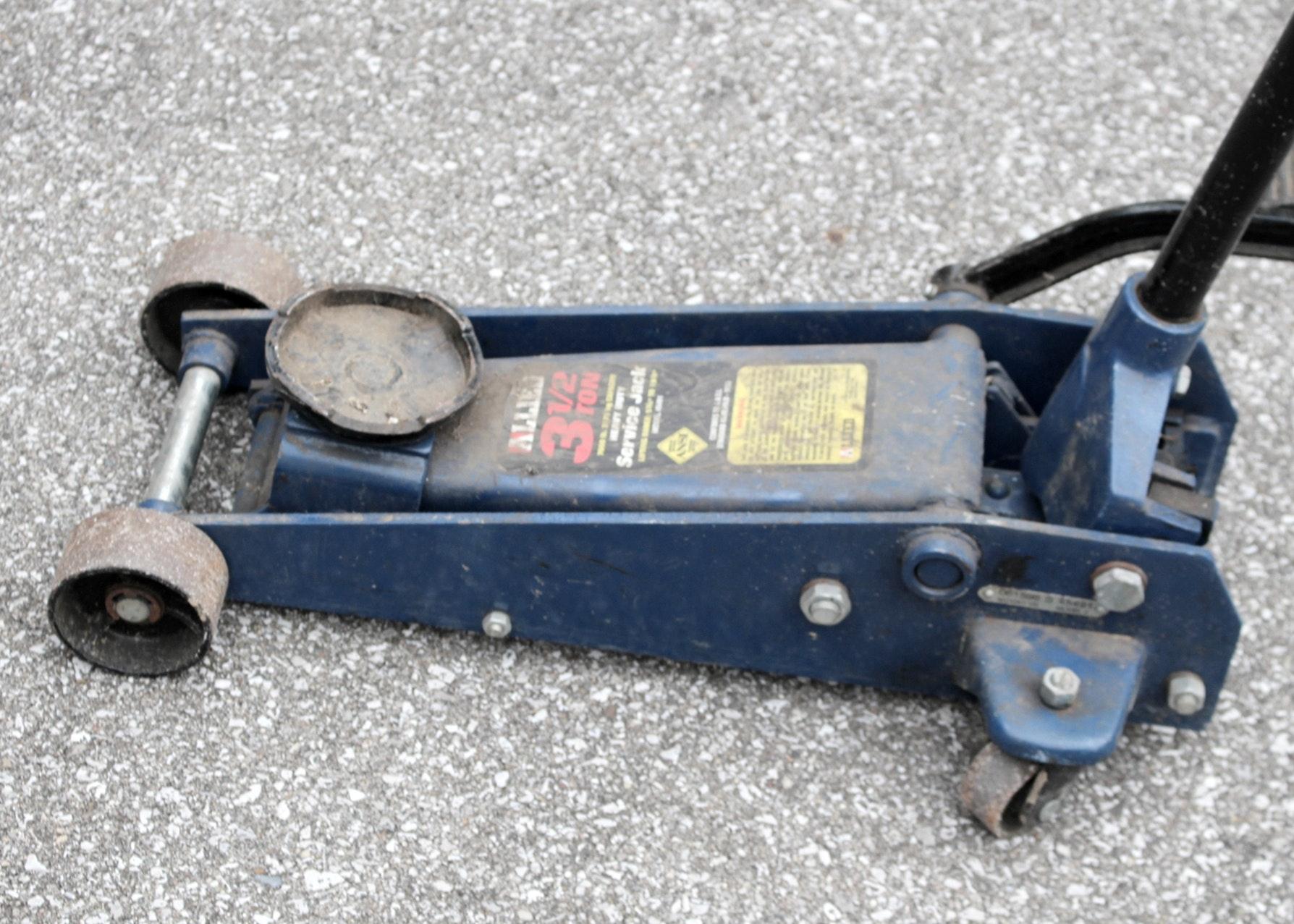 SCA Scissor Jack  1000kg  Supercheap Auto