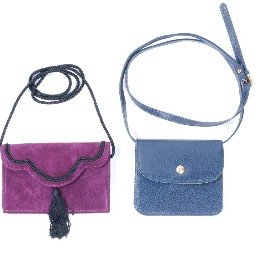 Two Perry Ellis Portfolio Handbags