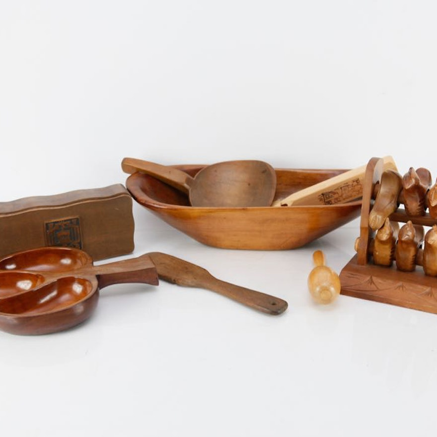 Vintage Wooden Items