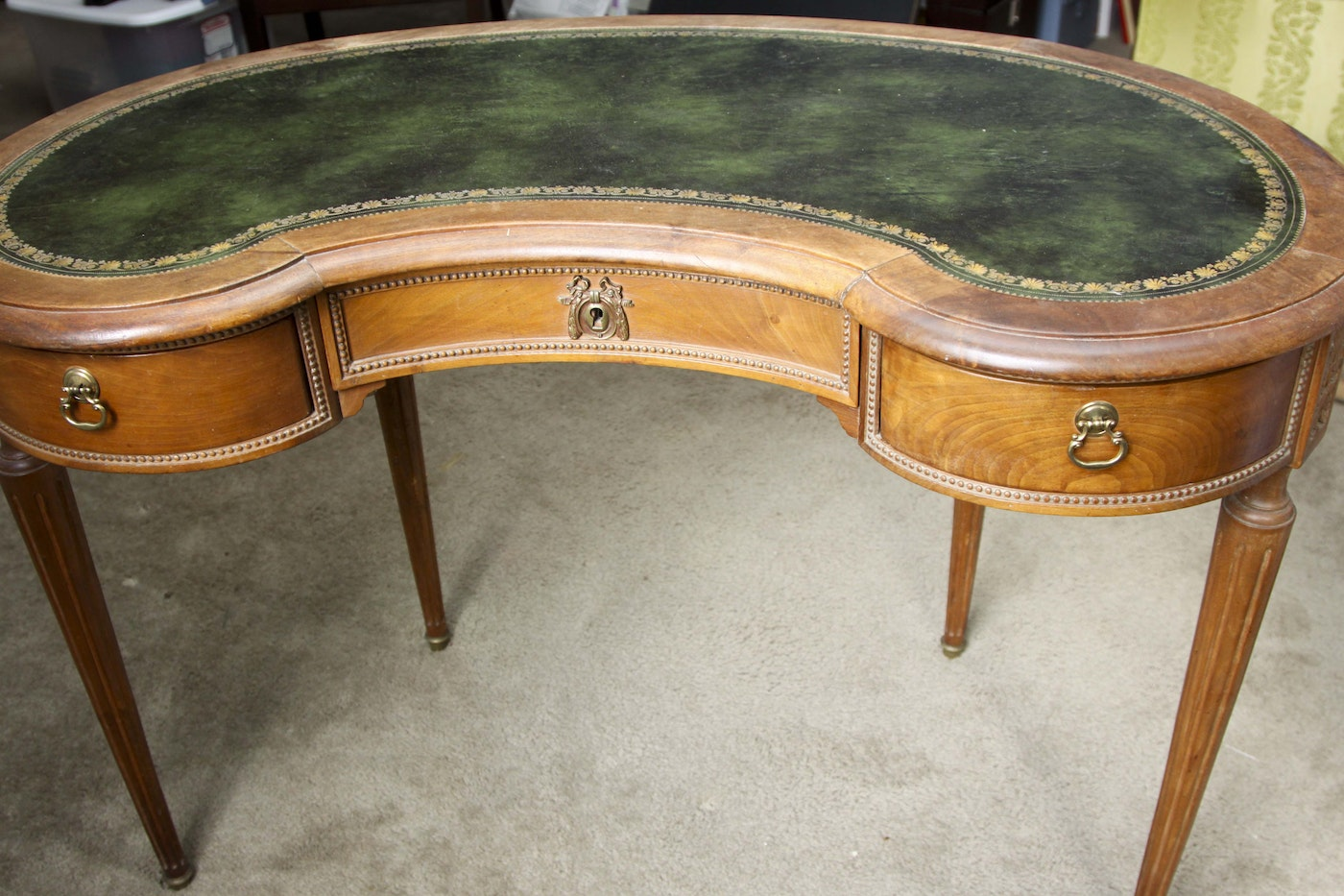 Ladies' Antique French Writing Desk and Chair   EBTH