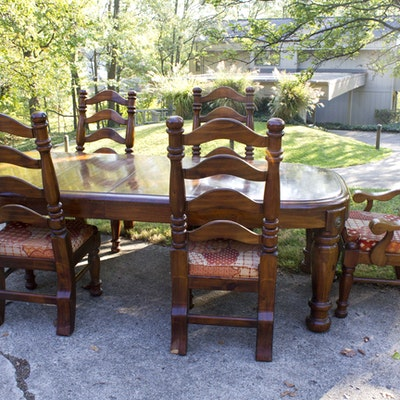 Pair Of Victorian Balloon Back Chairs Ebth