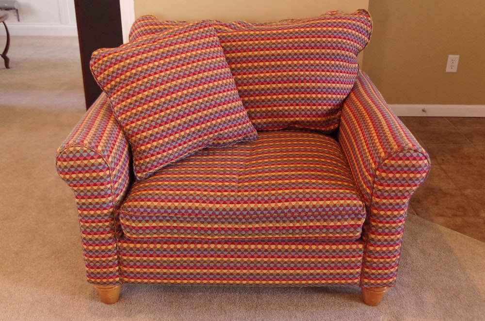 Kincaid Furniture Overstuffed Chair In Multicolor