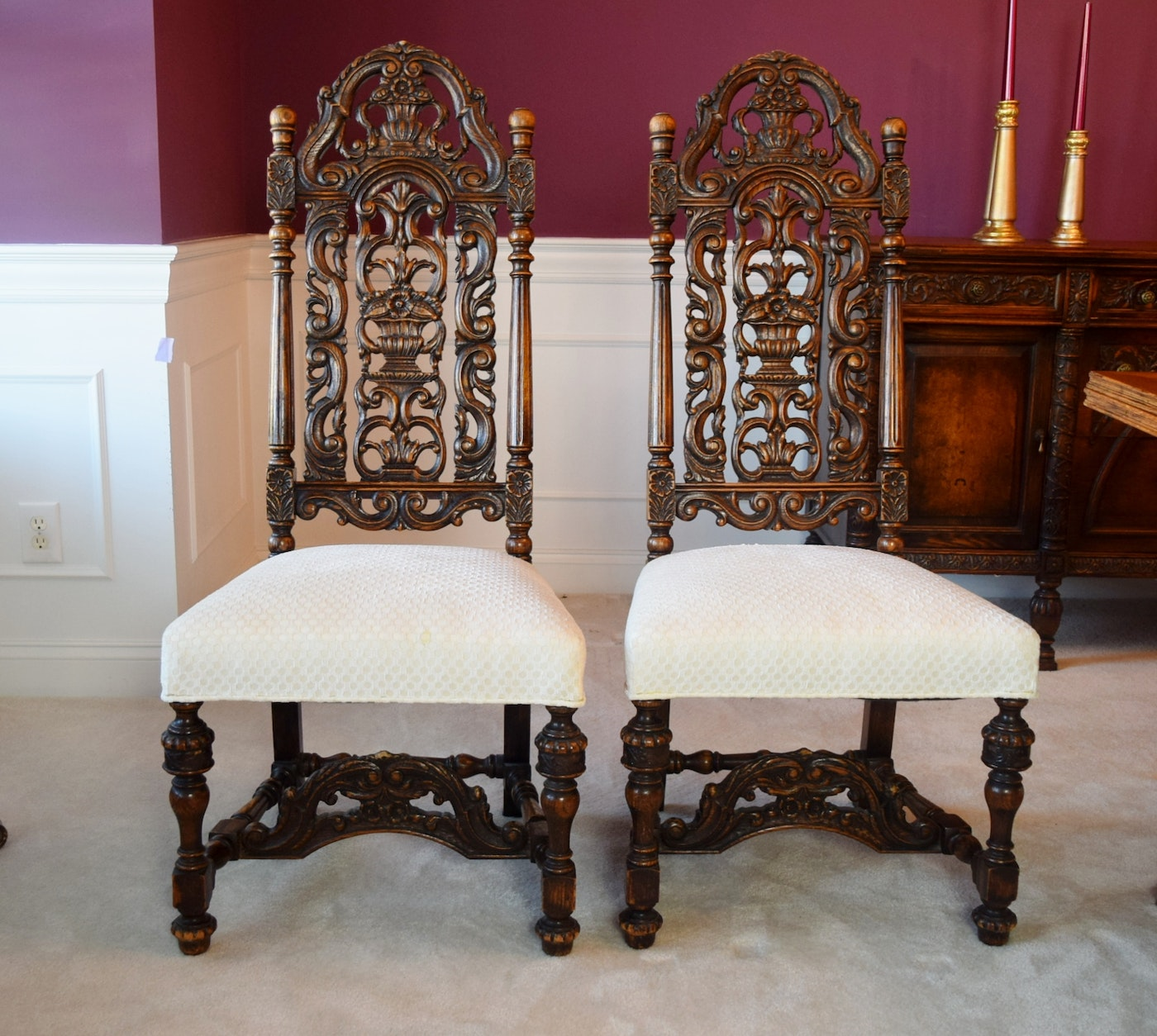 William And Mary Dining Room Set