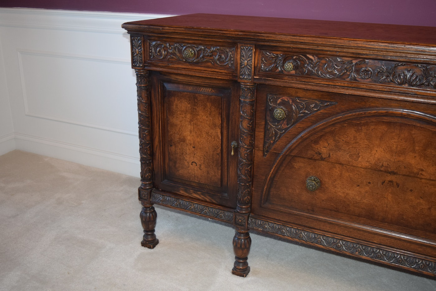 William And Mary Style Dining Room Furniture