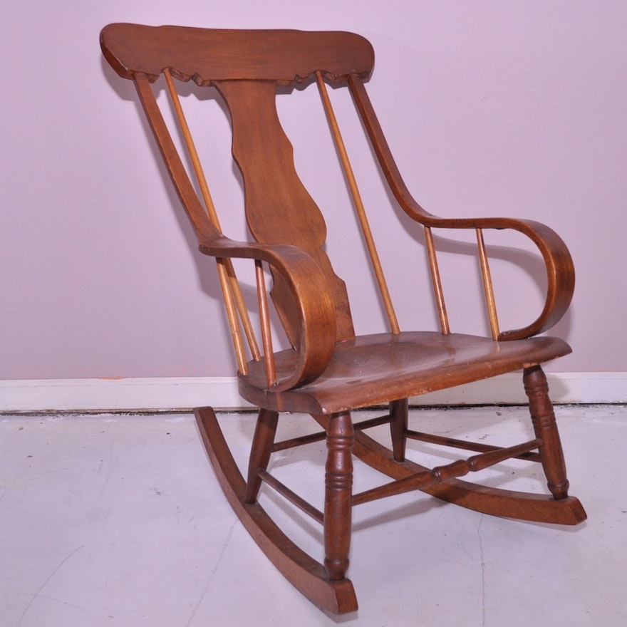 Peachy Fiddle Back Rocking Chair Inzonedesignstudio Interior Chair Design Inzonedesignstudiocom