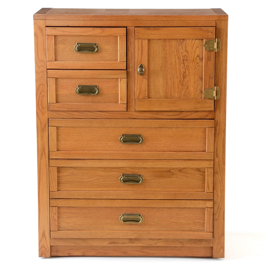 Lexington Oak Cabinet