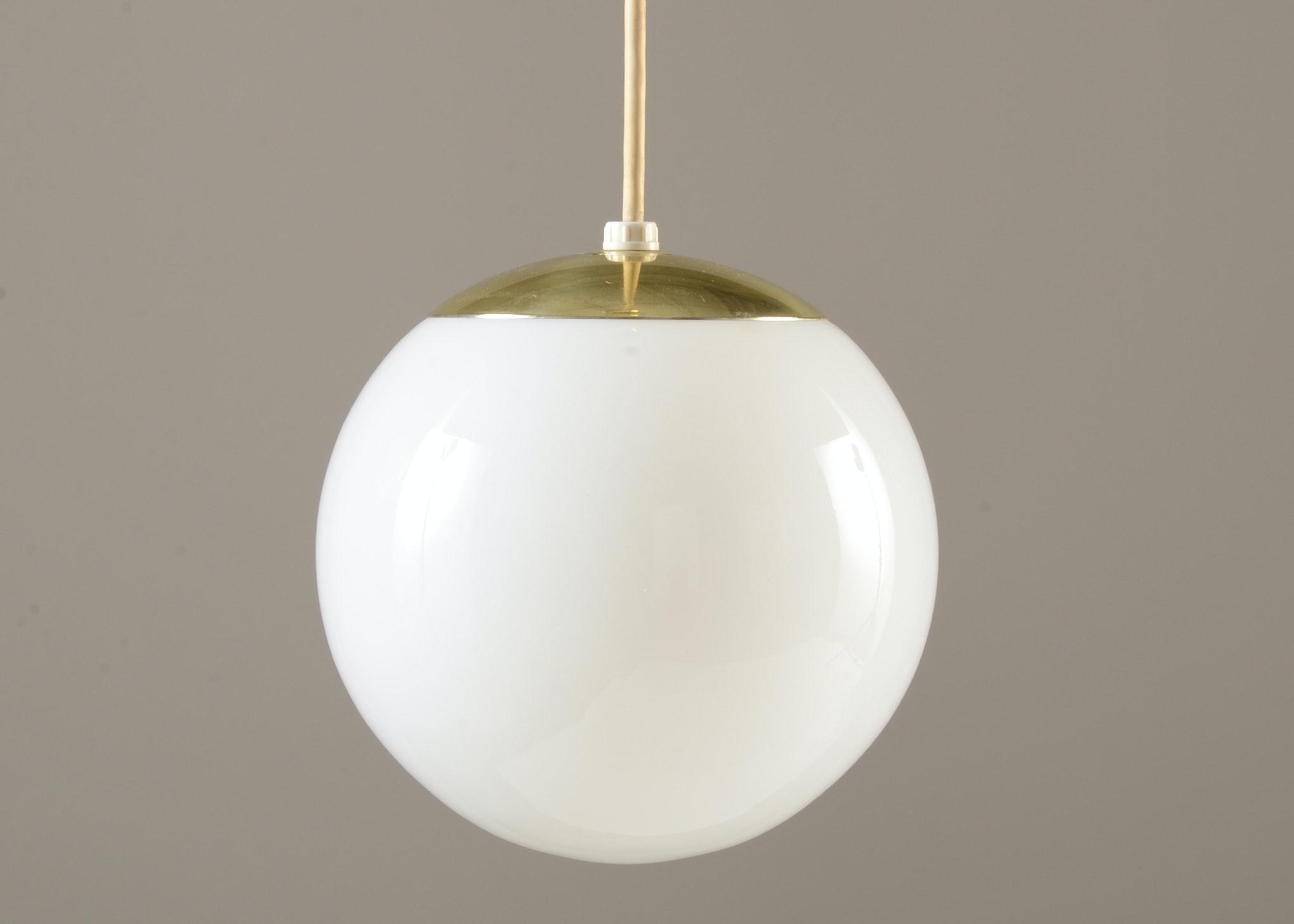 midcentury globe pendant light - Globe Pendant Light