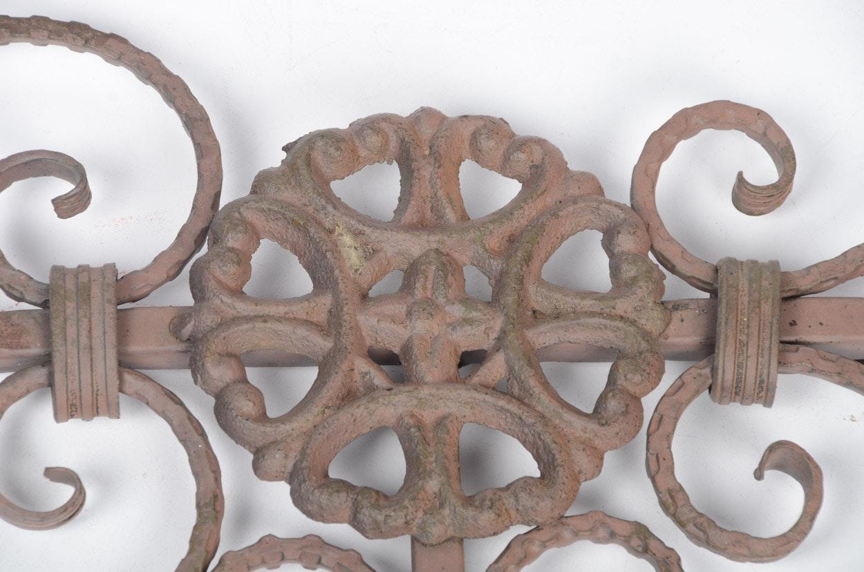 Wrought Iron Wall Decor : EBTH