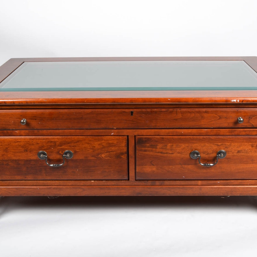 "Map Drawer Coffee Table: Lexington ""Bob Timberlake"" Collection Coffee Table"