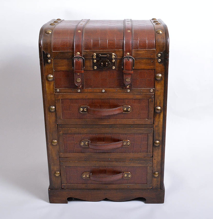 Luggage With Drawers Luggage Chest Of Drawers Ebth