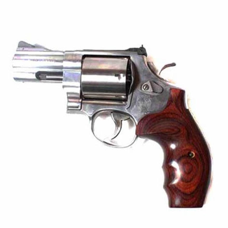 Smith & Wesson Model 629 .44 Magnum Snub Nose Revolver   EBTH44 Magnum Snub Nose Revolver For Sale