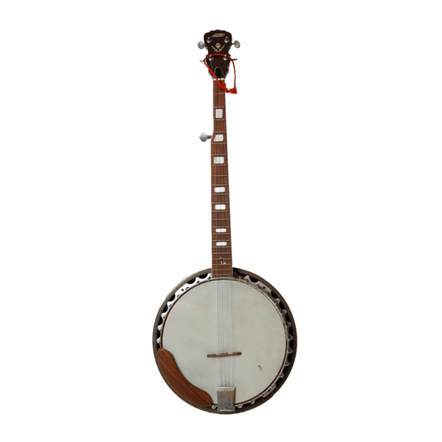 Astro Banjo with Abalone Shell Inlay