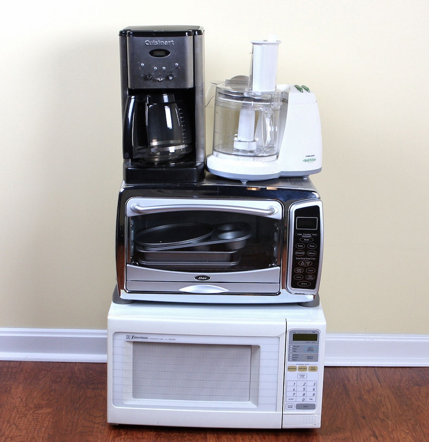Microwave And Toaster In 1 ~ Toaster oven microwave and food processor ebth