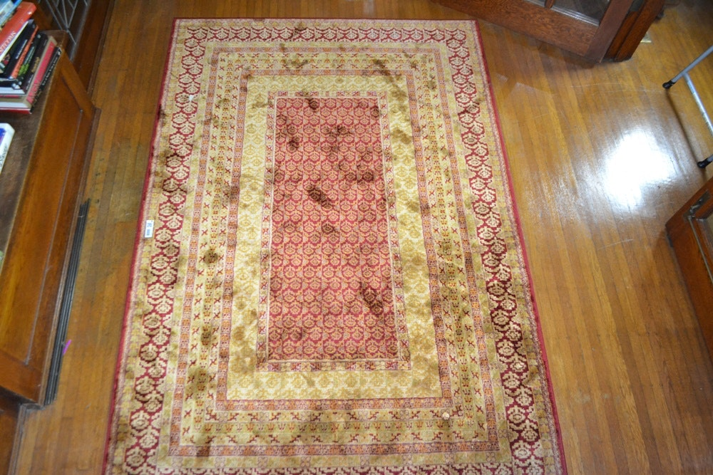 Belgian Made 100% Viscose Pier 1 Imports Area Rug .