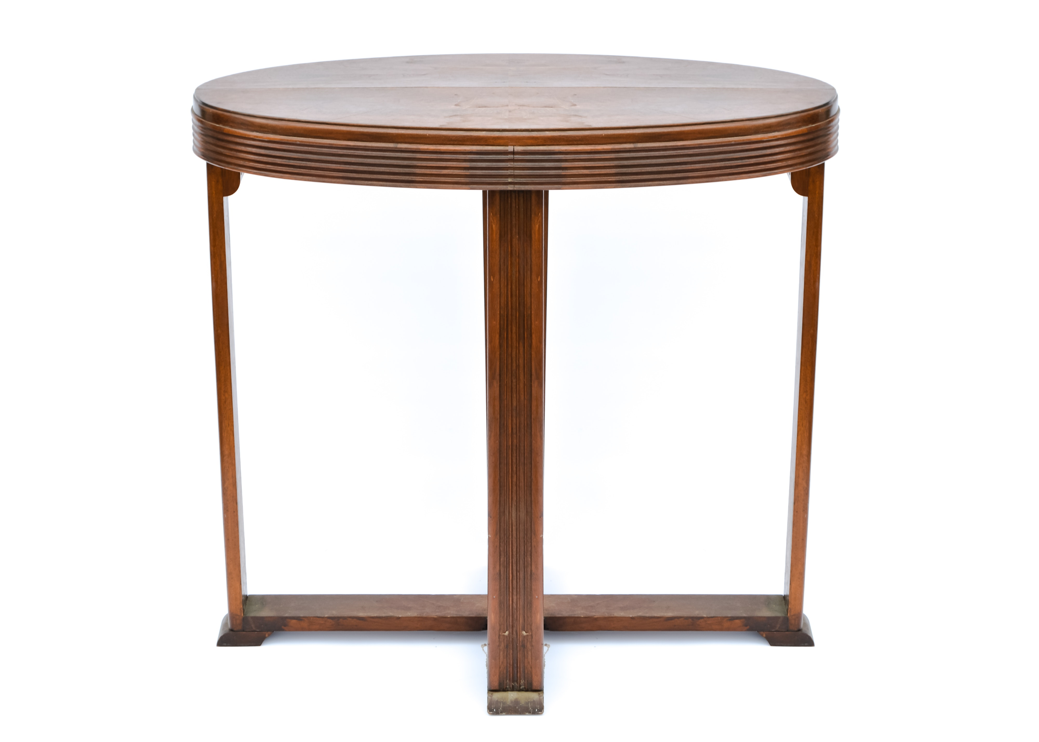 Oval Shaped Accent Table