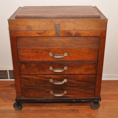 Vintage Cabinets Dressers And Antique Trunks Auction In Nicholasville Kentucky Personal