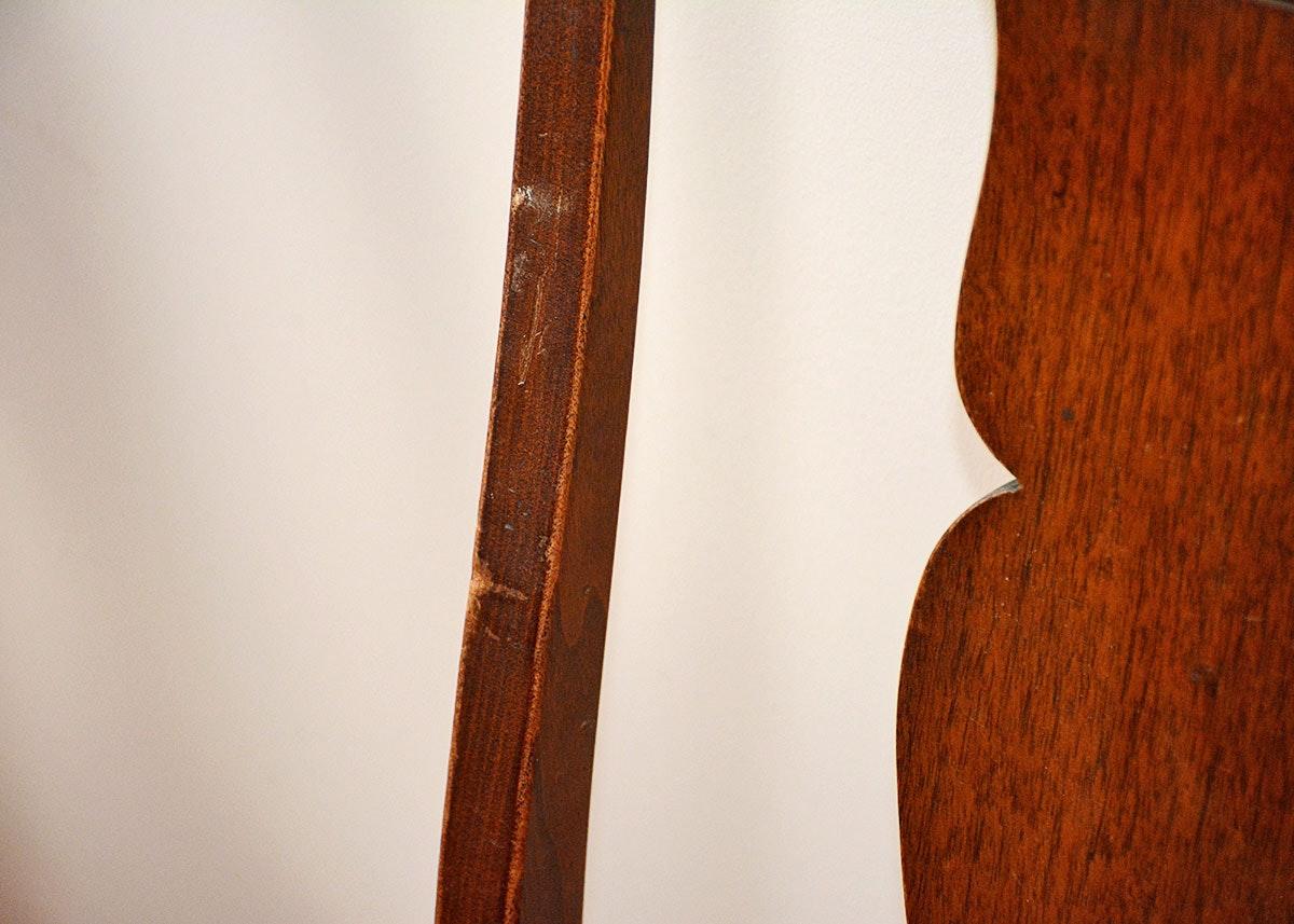 Walnut Queen Anne Style Side Chairs Ebth
