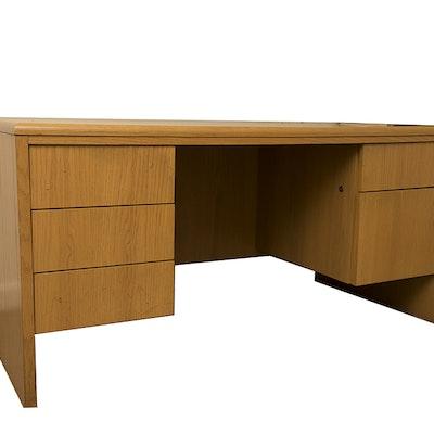 Laminate Oak Desk