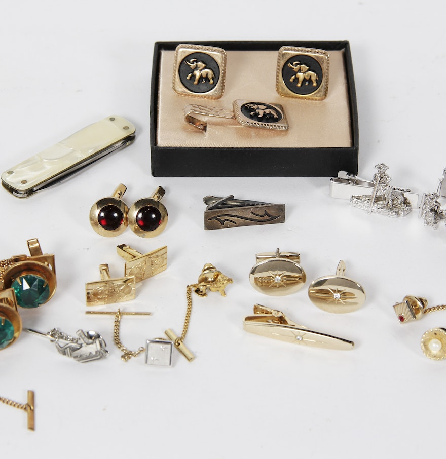 Men 39 s cuff links and jewelry including swank ebth for What is swank jewelry