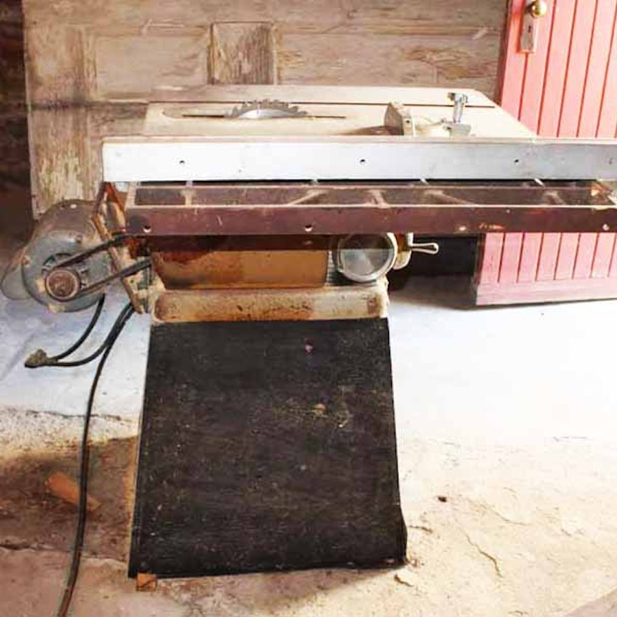 1960s Craftsman Model 100 Table Saw