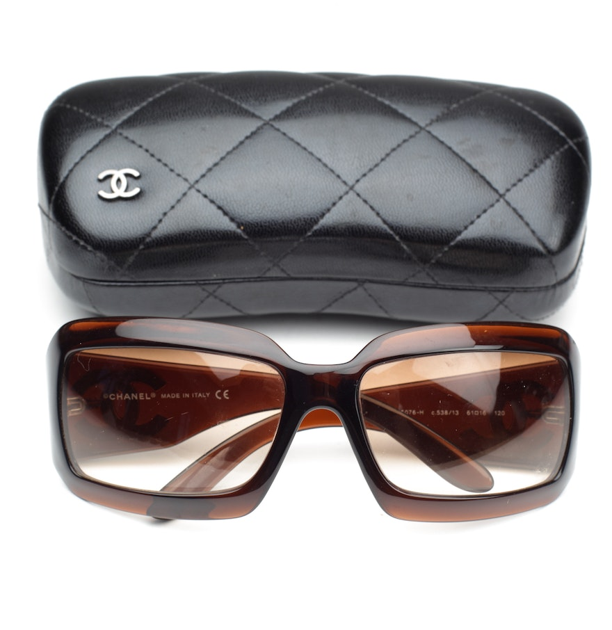 dded7fafda278 Chanel 5076-H Mother of Pearl Sunglasses   EBTH