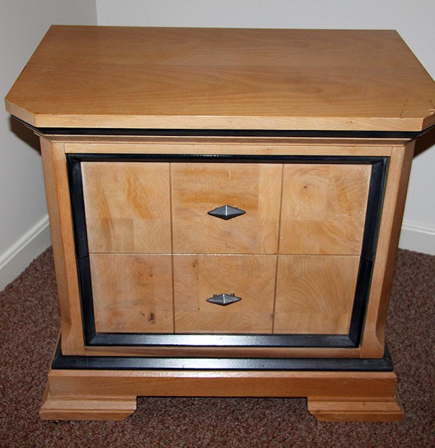 Bassett Furniture Washed Ash Nightstand : EBTH
