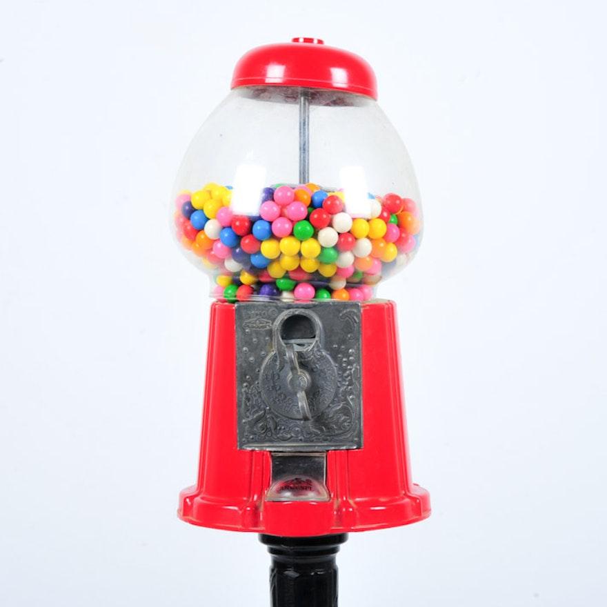 Vintage Carousel Gumball Machine