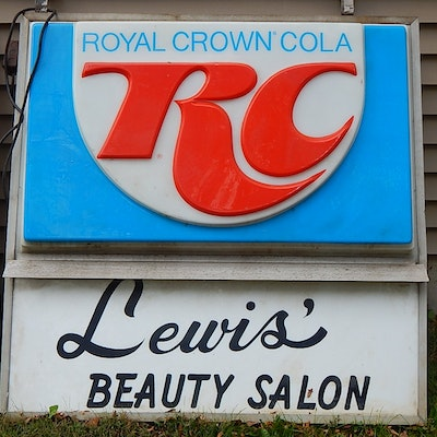 RC Cola Outdoor Store Advertising Sign