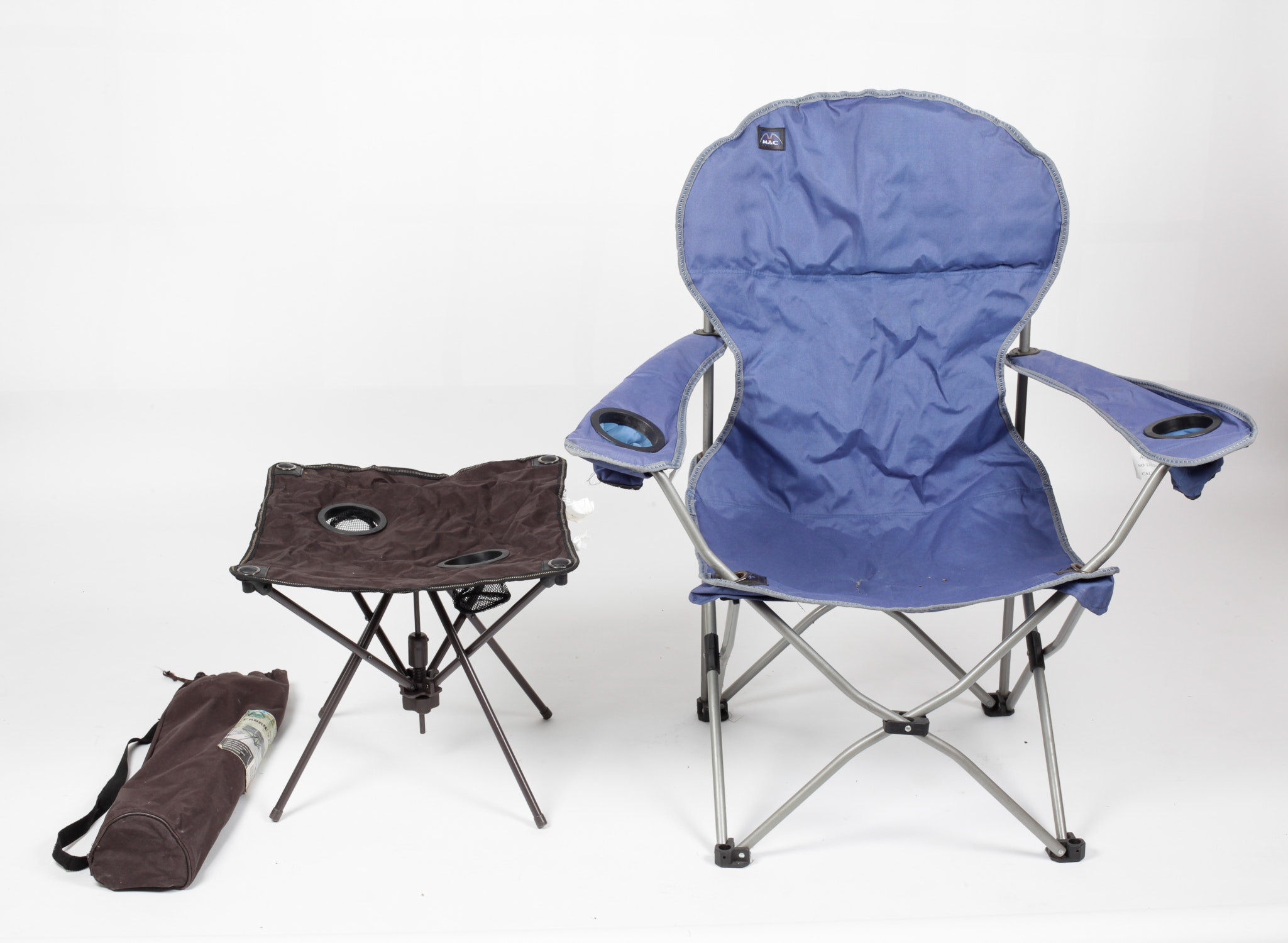 Outdoor Folding Chair And Table Ebth