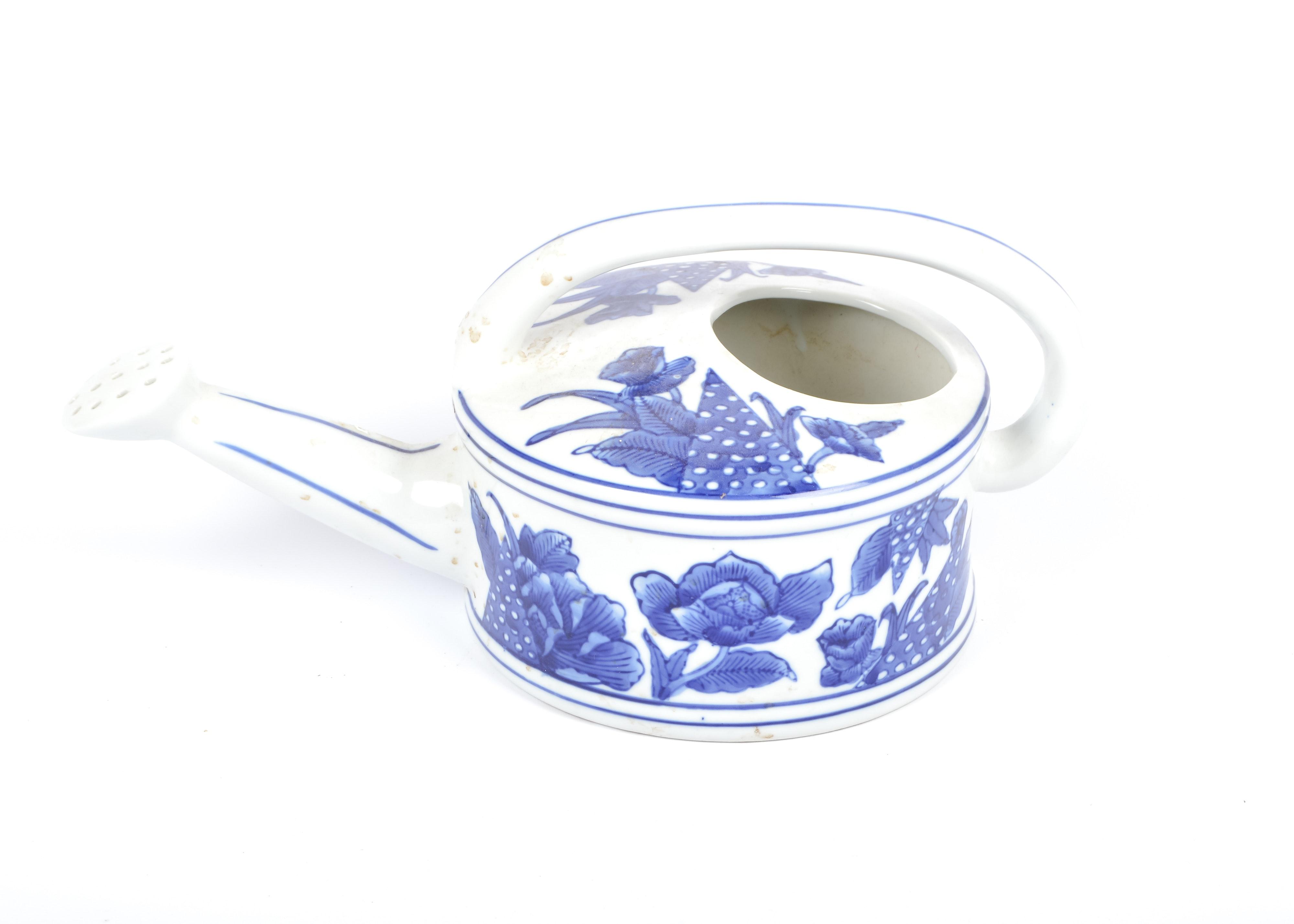 White Ceramic Planter