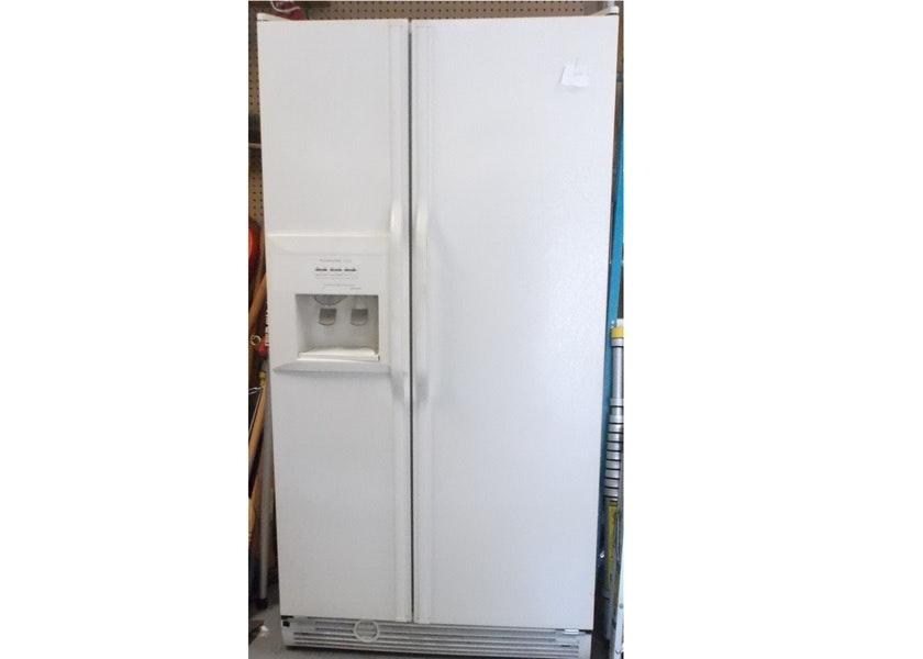 Kitchenaid Refrigerator Superba Kitchen Aid Superba Sideside Refrigerator Freeze  Ebth